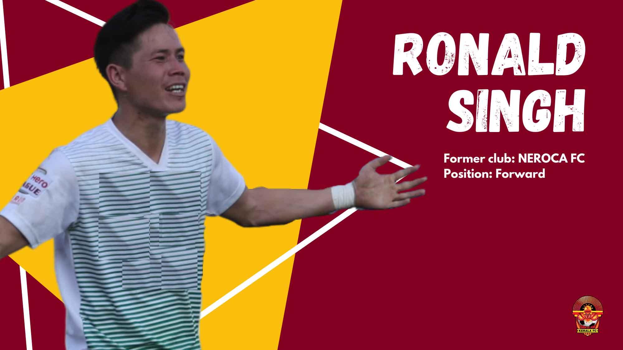 I admire Kerala's football culture: Ronald Singh
